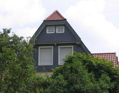 Fassade, Dachdeckerei Engel, Saarbrücken