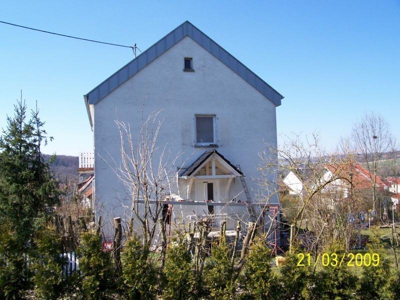 Vordach, Dachdecker Engel, Saarbrücken